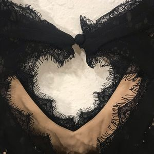 Anthropologie Dresses - Anthropologie HEARTLOOM lace lined dress raw hem S
